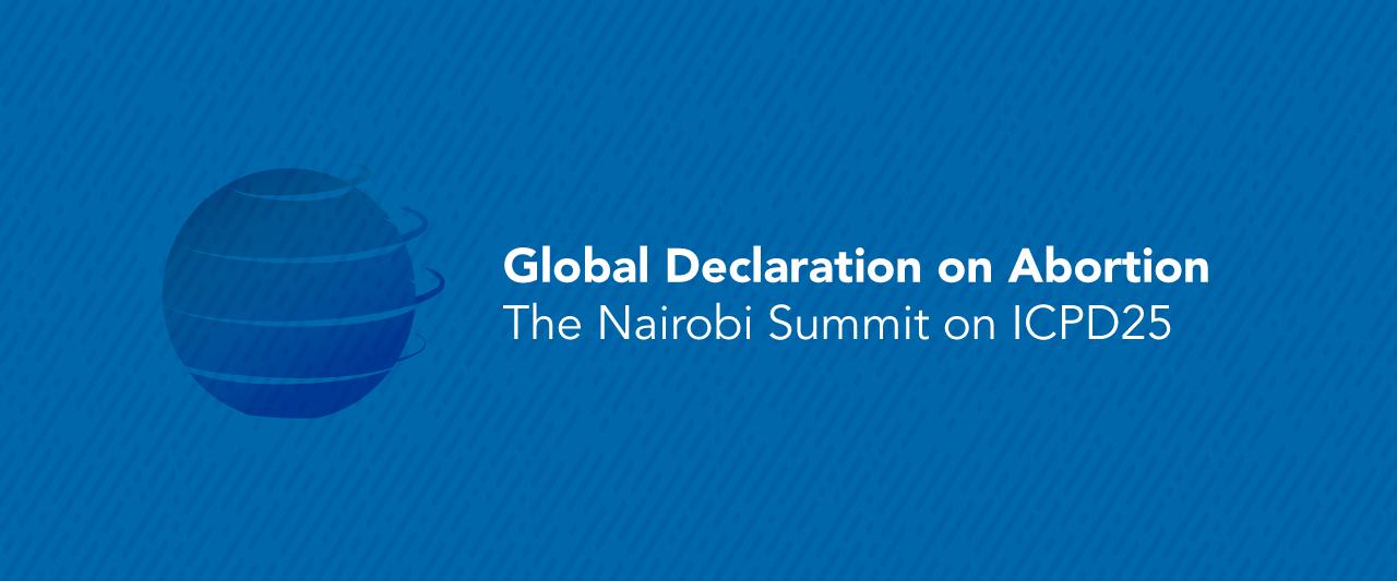 Ја потпишавме Глобалната декларација за абортус!
