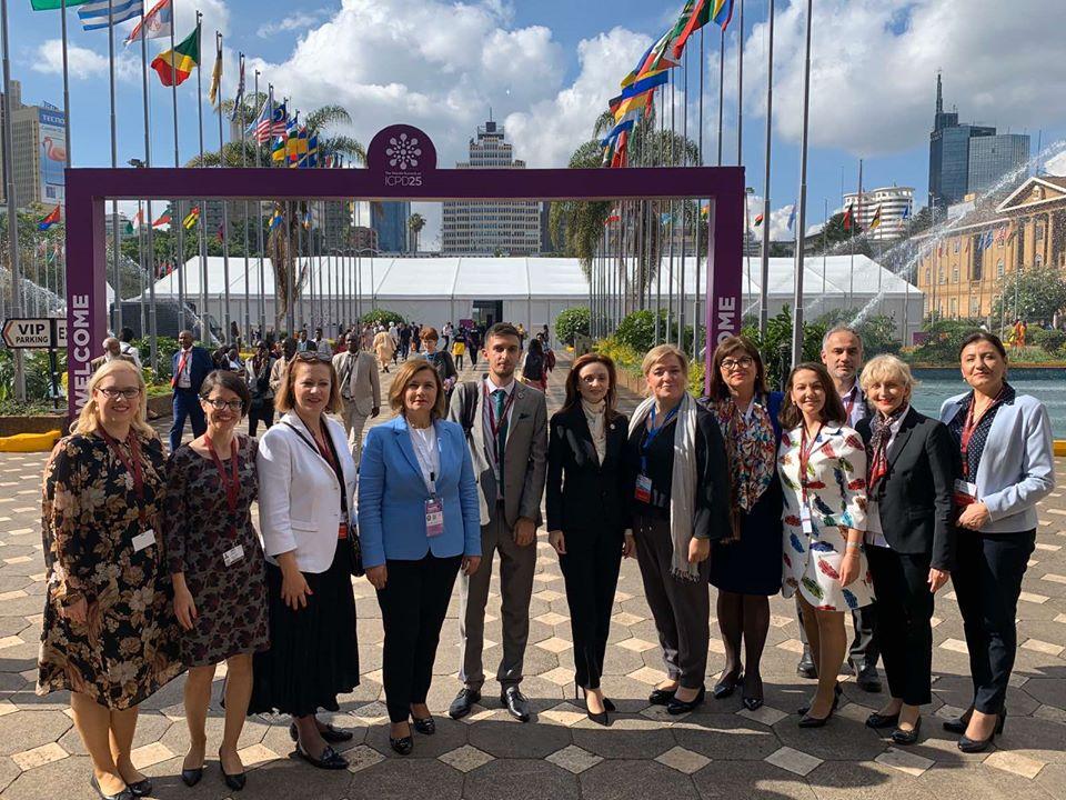 Усвоени заложбите на Меѓународната конференција за население и развој презентирани на самитот во Најроби