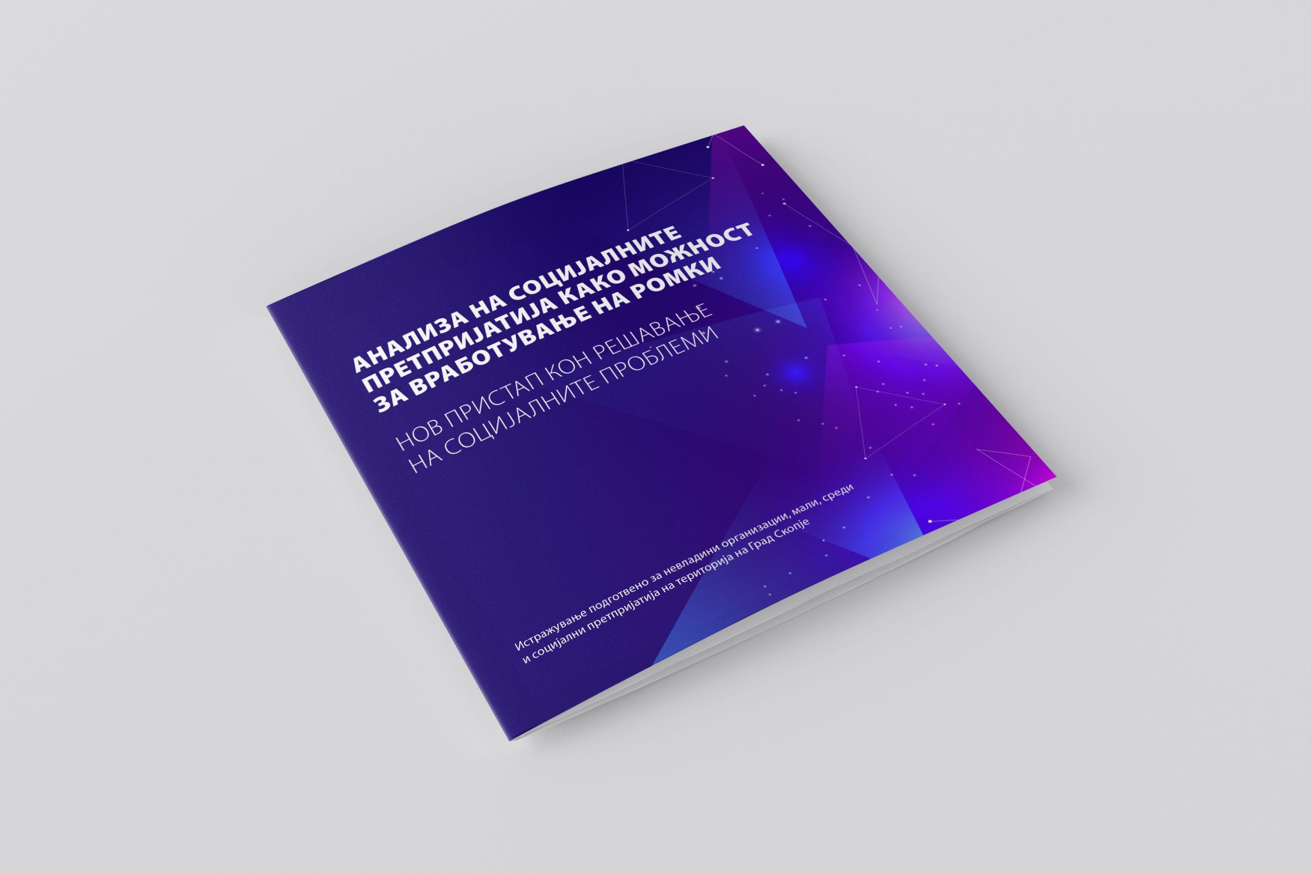 Анализа на социјалните претпријатија како можност за вработување Ромки – нов пристап кон решавањето на социјалните проблеми