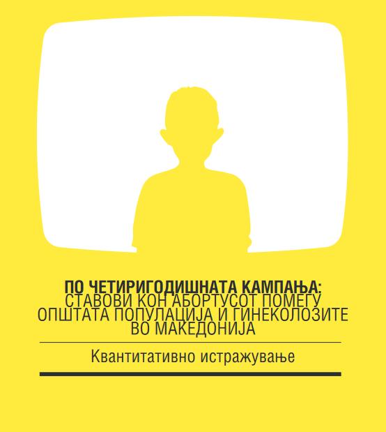 По четиригодишната кампања: Ставовите кон абортусот помеѓу општа популација и гинеколозите во Македонија