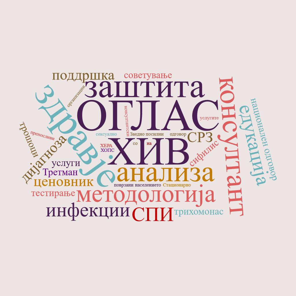 (Македонски) Јавен повик за избор на консултант за изработка на анализа и ценовник за нудење услуги раководени од ГОи вклучени во националниот одговор кон ХИВ